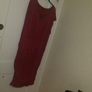 Torrid ruched dress 3x nwt